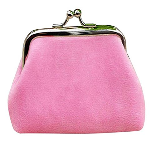 Hasp Noopvan Clearance small cute Corduroy Mini Wallet Lady 2018 wallets Wallet Pink Clutch Coin Bag Purse xYxarn
