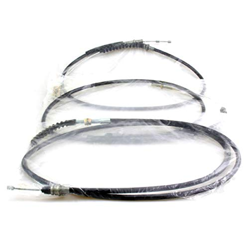 Hand Brake Cable Set New Fit For 1980-1989 Nissan Datsun 720 Hardbody Truck Pickup UTE LWB