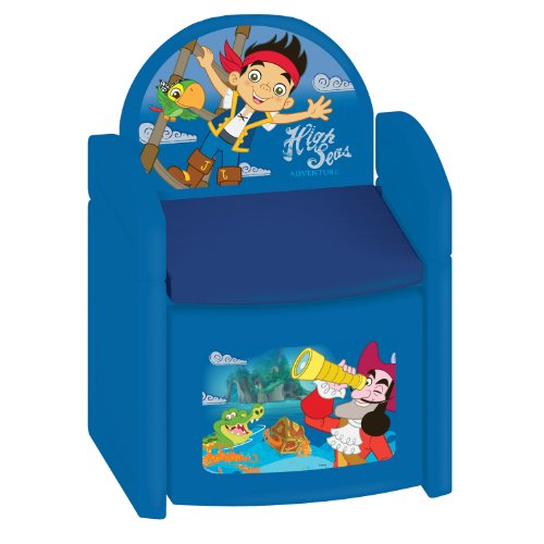 Disney Jake and The Neverland Pirates Treasure Hunt Sit N' Store Chair