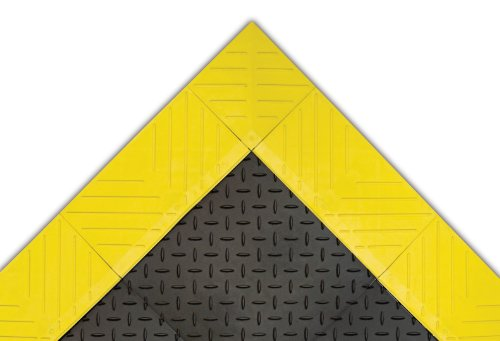 - NoTrax 621 Solid Diamond Flex-Lok Safety/Anti-Fatigue Floor Mat with PVC, for Dry Areas, 30