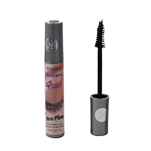 Prosa Mascara 4 En 1 Con Micro Fibras Made In Mexico ()