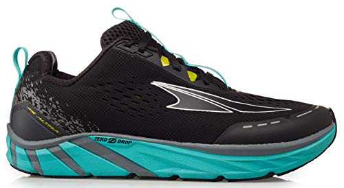 Altra Women's Torin 4 Road Running Shoe, Black/Teal - 9 M US