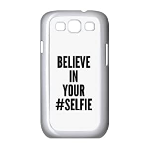 Believe In Your Selfie Cases For Samsung Galaxy S3 White