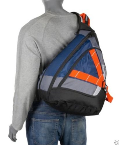 627d75b579 Brand New Adidas RYDELL SLING Backpack - TABLET Sleeve LARGE Bag 1770 cu  BLUE Black  NEW   Amazon.co.uk  Sports   Outdoors