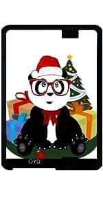 """Funda para Kindle Fire HD 7"""" (2012 Version) - Navidad - Empollón Panda by Adamzworld"""