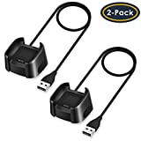 QIBOX Compatible Fitbit Versa Charger, 2 Pack Replacement...