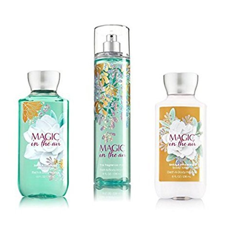 Bath   Body Works   Signature Collection   Winter 2016   Magic In The Air   Shower Gel   Fine Fragrance Mist   Body Lotion   Trio Gift Set