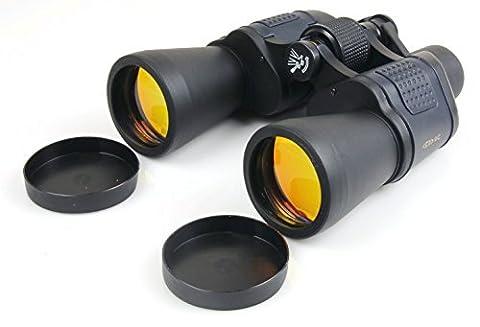 CAIDU Army Binocularsus-BF1007 100X7 Zoom Vision Optical Wide-angle Binoculars (Black),Outdoor Hunting Optical (Binocular 60x)