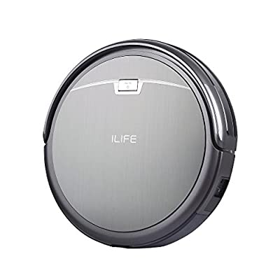 ILIFE A4 Robot Vacuum Cleaner Titanium Gray (Certified Refurbished)