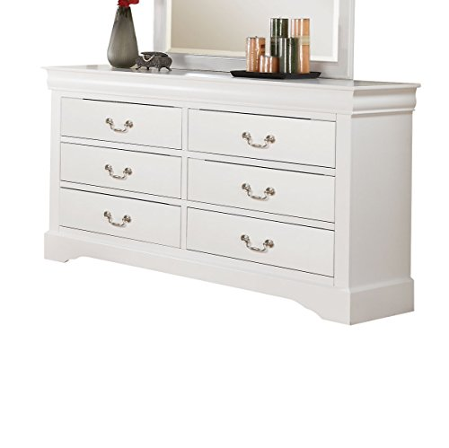 Acme Furniture Louis Philippe III 24505 Dresser, White