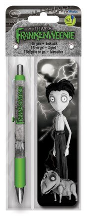 Frankenweenie Gel Pen and Bookmark Pack