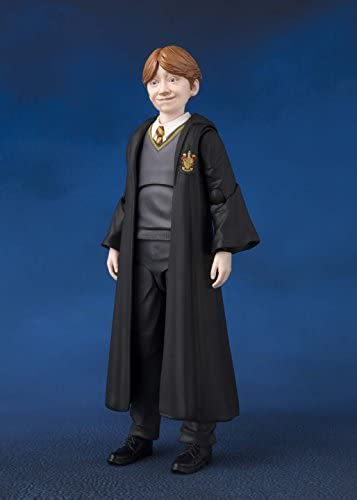Bandai – Ron Weasley Figur 12 cm (Harry Potter and The Phi, Mehrfarbig (Tamashii Nations BAS55109)