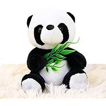 Elet-mall Cute Sitting Panda Soft Stuffed Bear Animal Plush Toy Children's Gift