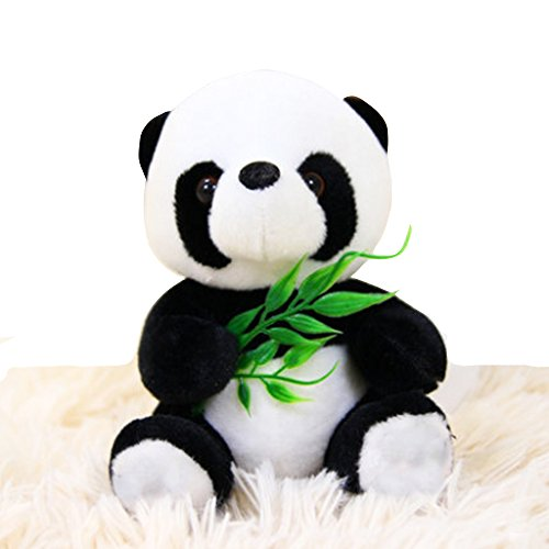Sitting Panda Bear - Elet-mall Cute Sitting Panda Soft Stuffed Bear Animal Plush Toy Children's Gift