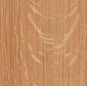 Wood Veneer, Oak, White Quartered. Heavy Fleck, 2x8, PSA Backed
