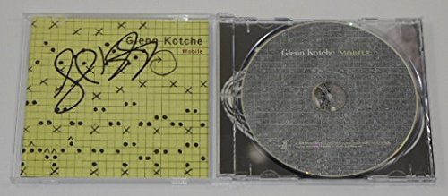 Glenn Kotche Mobile Signed Autographed Music Cd Compact Disc Loa