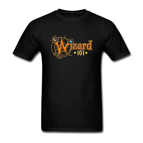 swwm-mens-wizard101-logo-short-sleeve-cotton-t-shirt-black