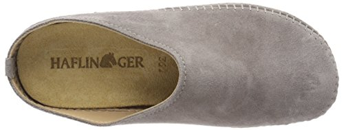 Slippers Unisex Back 77 Haflinger Adults' Grey Open Softino Graphite q6d6XHw
