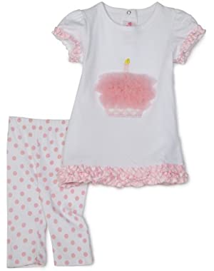 Tiny Dancer Cupcake Tunic And Leggings Set