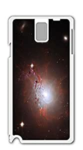 Design Hard Skin Case Cover Shell for Mobilephone case for samsung galaxy note 3 for girls - Star Universe yellow nebula
