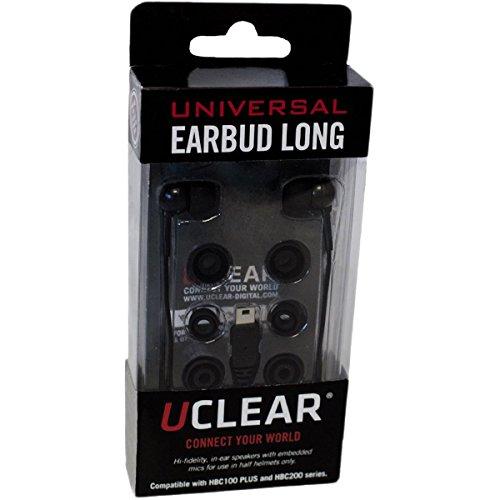 UCLEAR Digital Long Earbuds Bluetooth Helmet Audio -