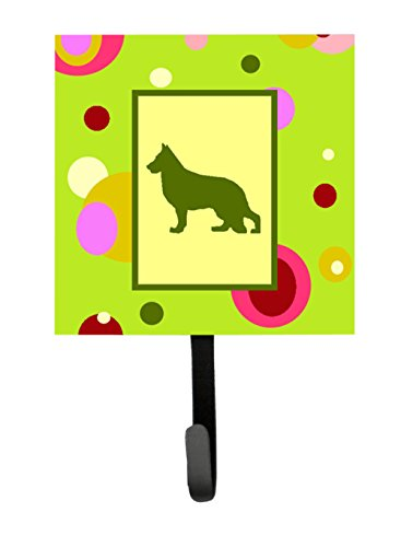 German Shepherd Leash Hook - Caroline's Treasures CK1129SH4 German Shepherd Leash Holder or Key Hook, Small, Multicolor