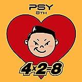PSY - [4x2=8] 8TH ALBUM CD + Sticker + Booklet K-POP Sealed YG