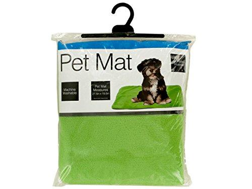Bulk Buys OL385-6 Plush Pet Mat with Anti-Slip Bottom44; 6 Piece by bulk buys
