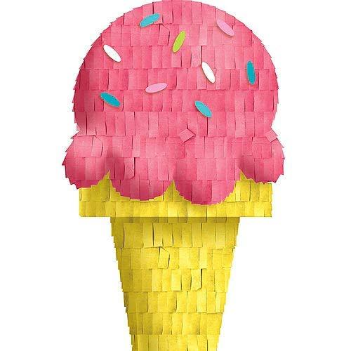 HollyDel Mini Ice Cream Pinata Decoration Summer -