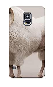 Crazinesswith Sanp On Case Cover Protector For Galaxy S5 (mountain Goat) For Christmas Day's Gift