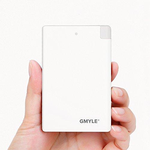 GMYLE Ultra Thin Portable External Lightning