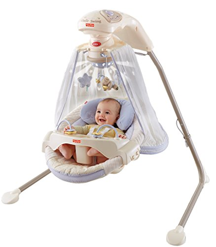 Fisher-Price Papasan Cradle Swing, Starlight by Fisher-Price