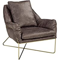 Signature Design by Ashley A3000040 Accent Chair, Dark Gray
