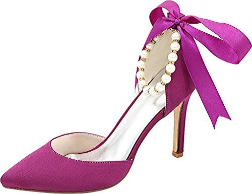 Salabobo Salabobo Violet Femme Sandales Sandales Compensées 44xq5wrgH