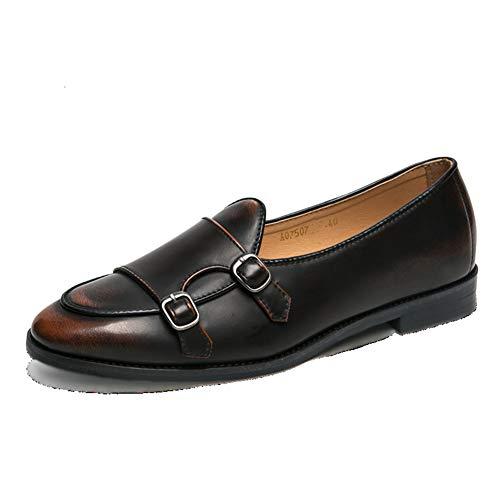 Hombres Social Cuero Zapatos Otoño Hombres b 38 Beanie Pelo Mmj Pequeños Estilista Primavera Moda Personalidad Marea De Los Retro wIxnCf