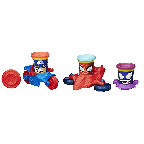 Play-Doh Marvel Can-Heads - Play Spiderman Dough