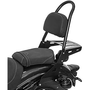 Sissy Bar Luggage Rack for Yamaha XV 1600 Road Star 99-04 Black Casual XL