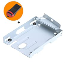 SODIAL(R) Super Slim Hard Disk Drive Mounting Bracket for PS3 System CECH-400x Series