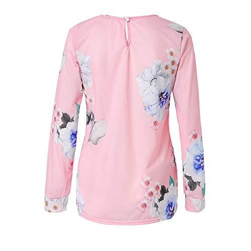 Ray Shirt Chemise Weant et Blouse Longue Chemisiers Femme Casual Rose Tops Col U Tee Femme Blouses Shirt Grande Taille Imprim Femme Blouse Manche 6xwnqHOI4X