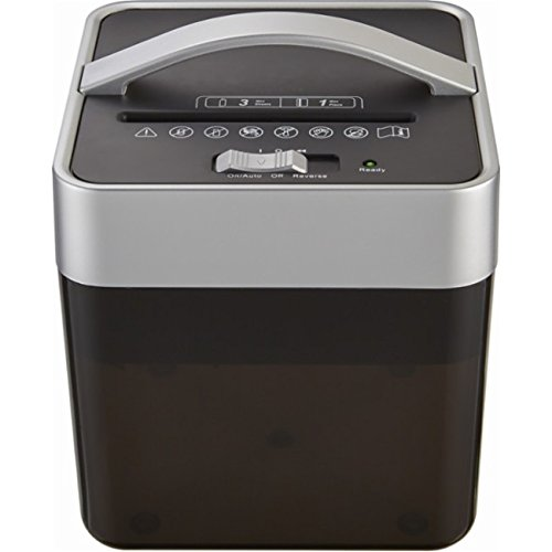 Insignia - 6-Sheet Crosscut Countertop Mail Shredder - Black by Insignia