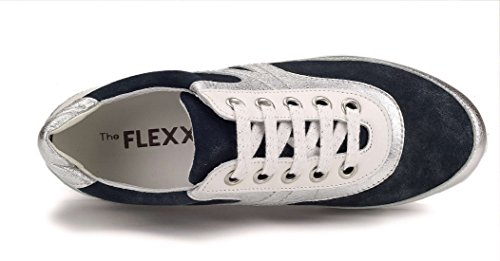 Argent Flexx The Femme Move bleu Tee Sneaker 61Fqx8B7wn