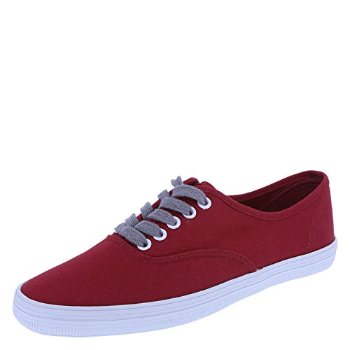 city sneaks Women's Red Women's Bal Sneaker 7 Regular