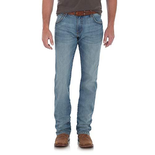 - Wrangler Men's Retro Slim Fit Straight Leg Jean, Callahan, 38W x 30L