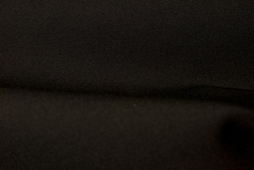 Black Stretch Gabardine - 7