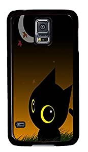 free Samsung Galaxy S5 cover Black Cat Holiday PC Black Custom Samsung Galaxy S5 Case Cover