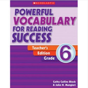 Scholastic 978-0-439-64062-6 Powerful Vocabulary for Reading Success - Teacher Edition Grade (Scholastic Powerful Vocabulary)