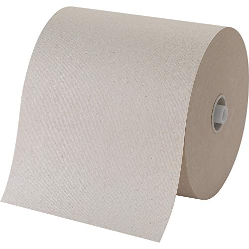 """Pacific Blue Ultra 8"""" High-Capacity Recycled Paper Towel Roll by Georgia-Pacific, Brown, 26496, 7.87"""