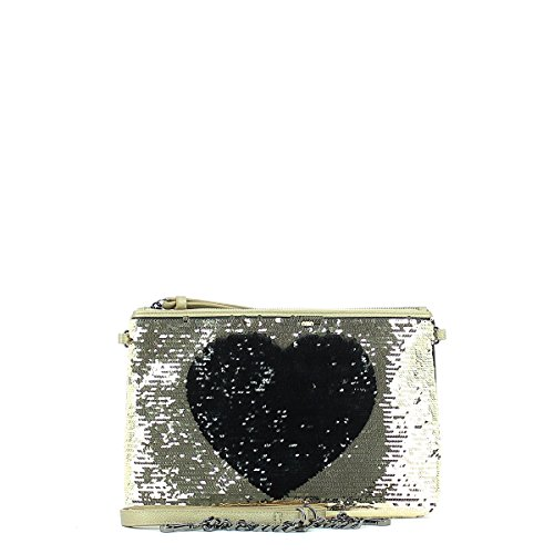 Amour Borsa Illusion Pochette Black Stamp Kiss rUwU7x