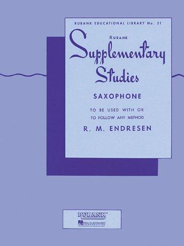 Supplementary Studies Saxophone R M Endresen product image