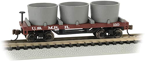Old-Time Water Tank Car U.S. Military Railroad - N Scale ()